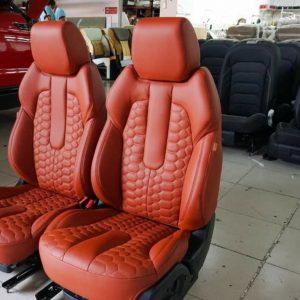 Bọc Ghế Da Ô Tô Tại Nhà, may đo chuẩn xác đến từng milimet, giúp khách hàng có những bộ ghế da ô tô bo sát, gọn, đẹp và bảo hành dài lâu, garage uy tín.