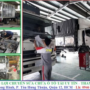 sửa chửa ô tô tải
